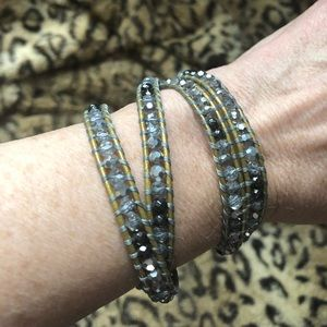 Jewelry - Nakamol adjustable beaded bracelet.